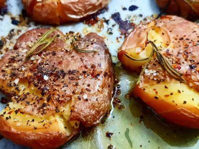 תפוחי אדמה מעוכים ברכות מושלמת