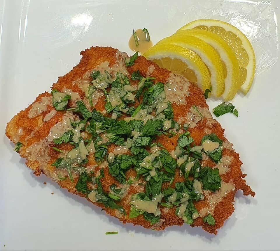 דג מטוגן במרינדה מושלמת