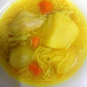 נוסטלגי וטעים: מרק עוף לשבירת הצום