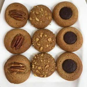 עוגיות כוסמין מלא ב-3 צורות משגעות