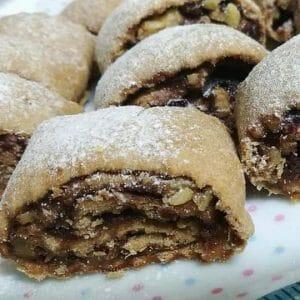 עוגיות כוסמין תמרים