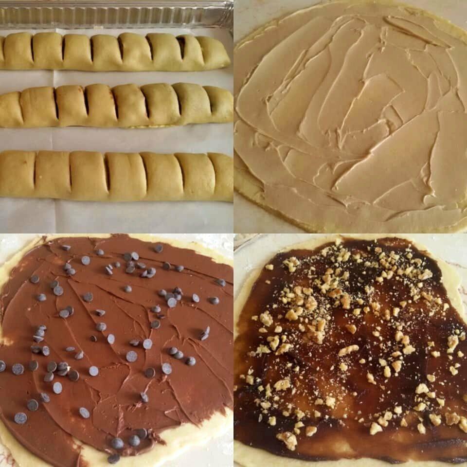 3 עוגיות משגעות מבצק מושלם אחד