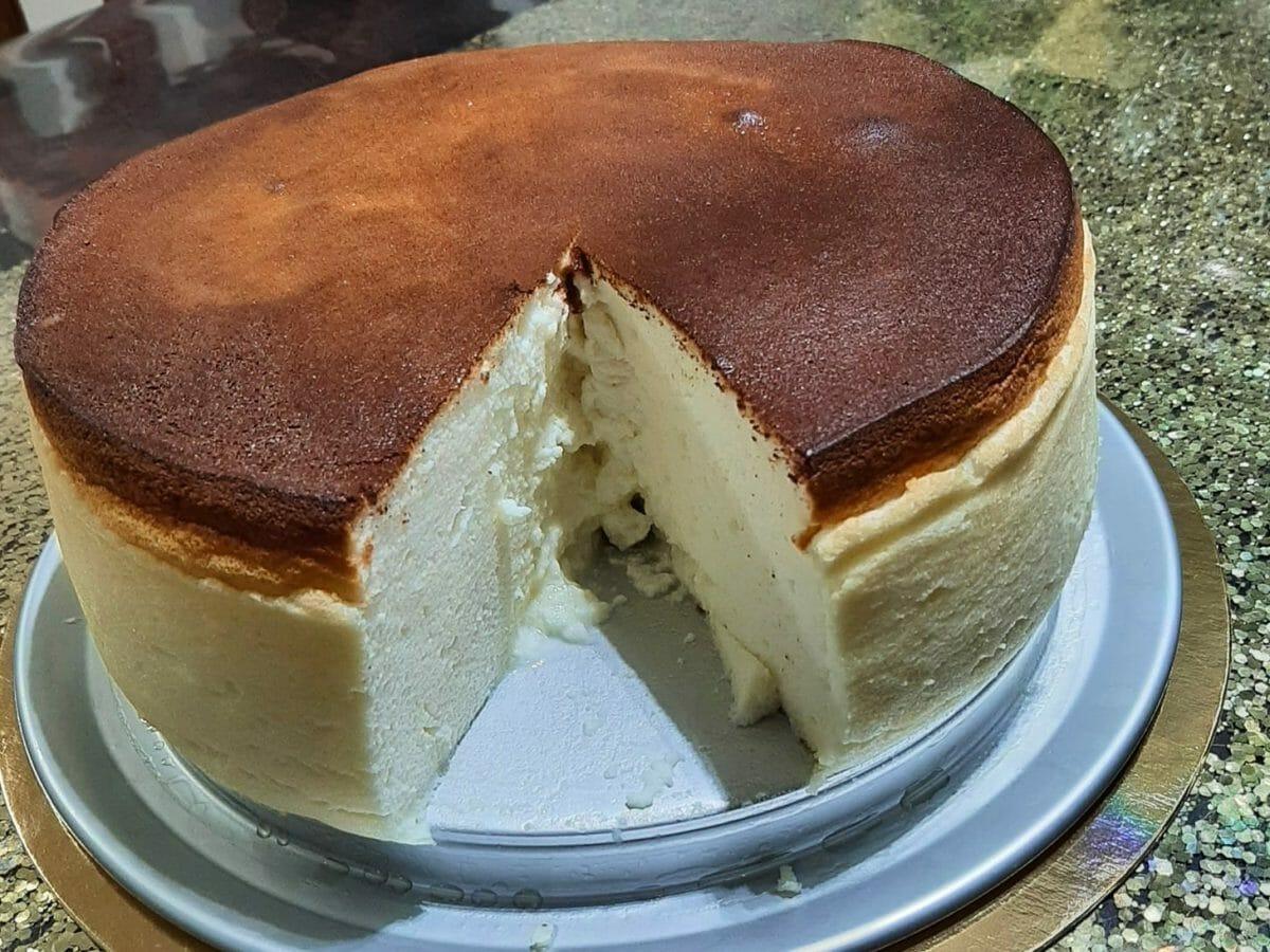 עוגת גבינה גבוהה