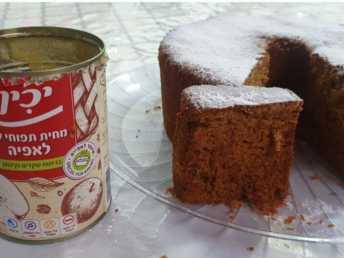 עוגת דבש ותפוחים ללא גלוטן