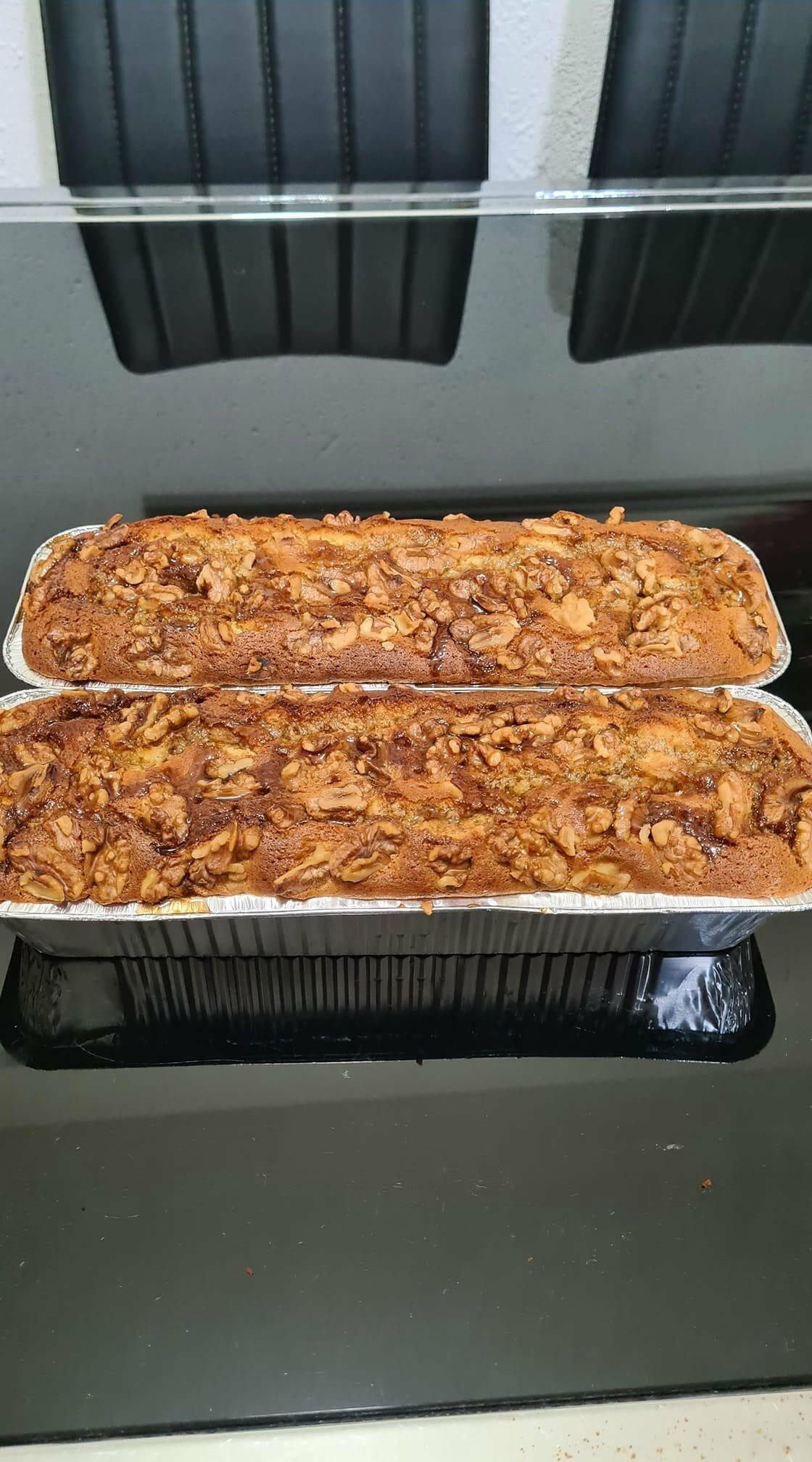 עוגת מייפל אגוזים