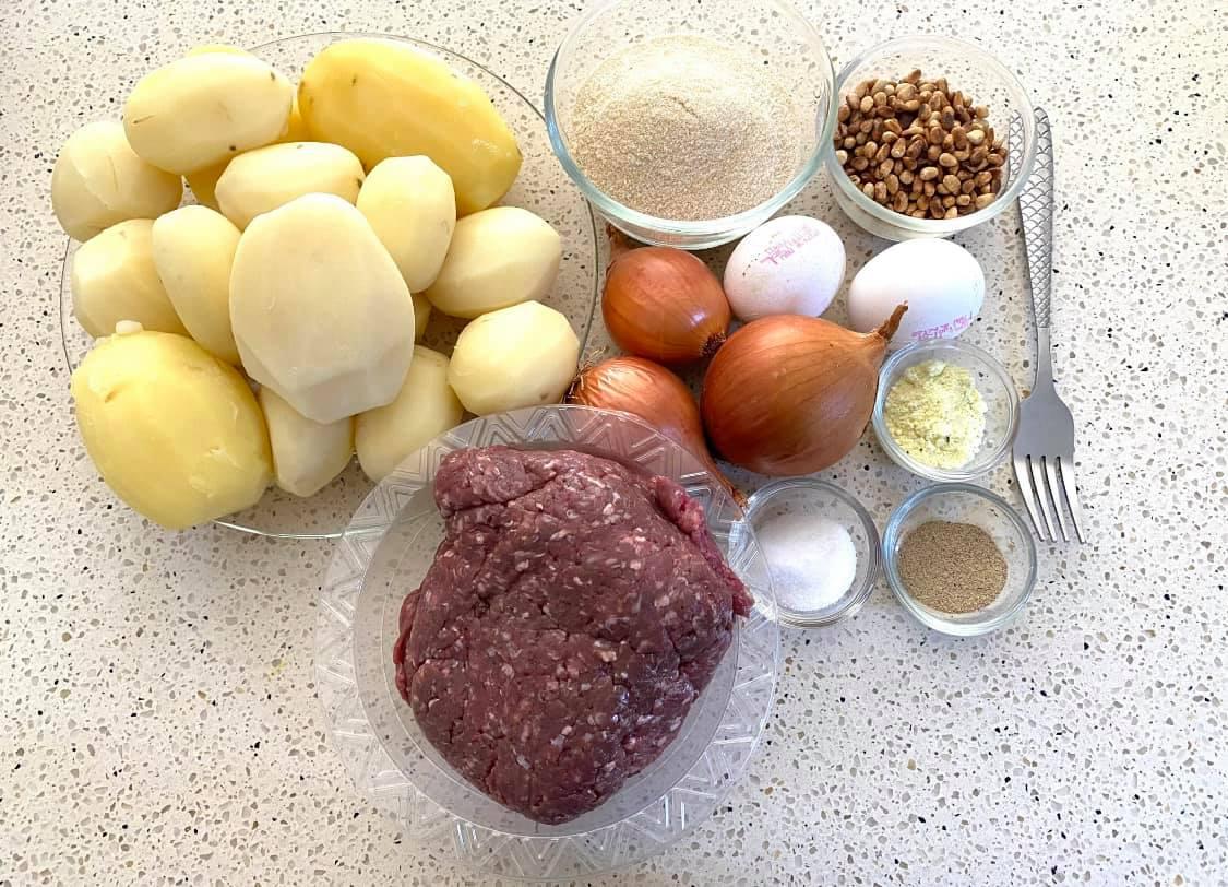 פשטידת בשר ותפוחי אדמה נדירה