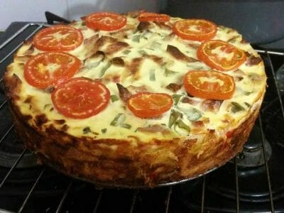 פשטידת פסטה גבינות