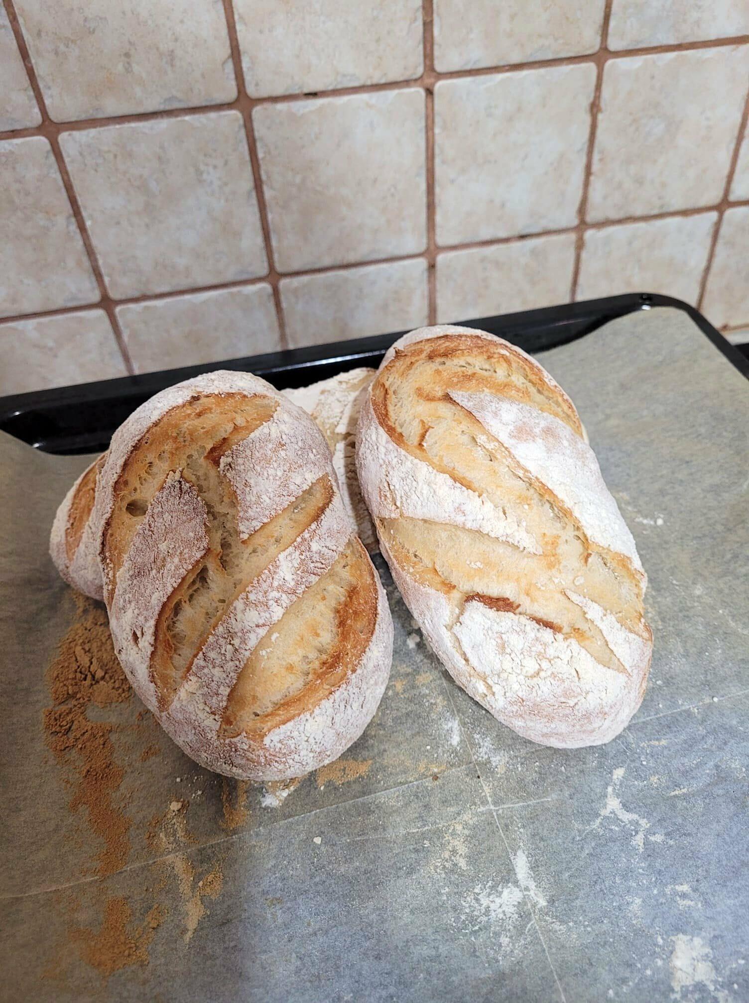 לחם של מרקו - לחם ללא לישה