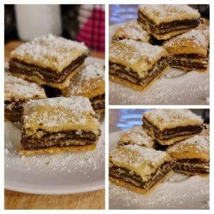 עוגיות שוקולד שכבות