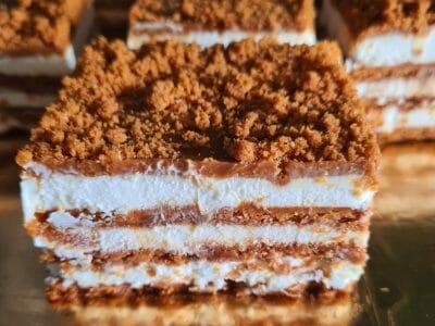 עוגת ביסקוויטים לוטוס