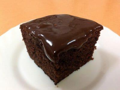 עוגת שוקולד עם שוקולית