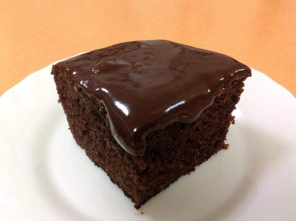עוגת שוקלד עם שוקולית